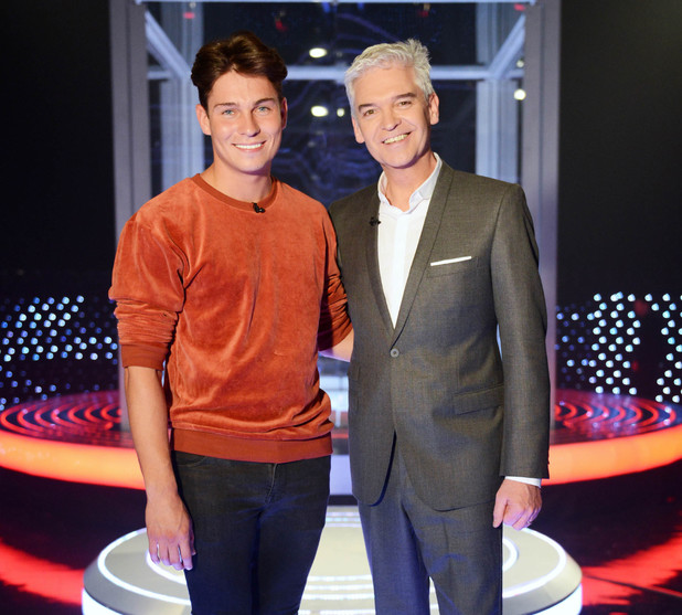 TOWIE's Joey Essex stars on The Cube (airs: 11 April 2014).