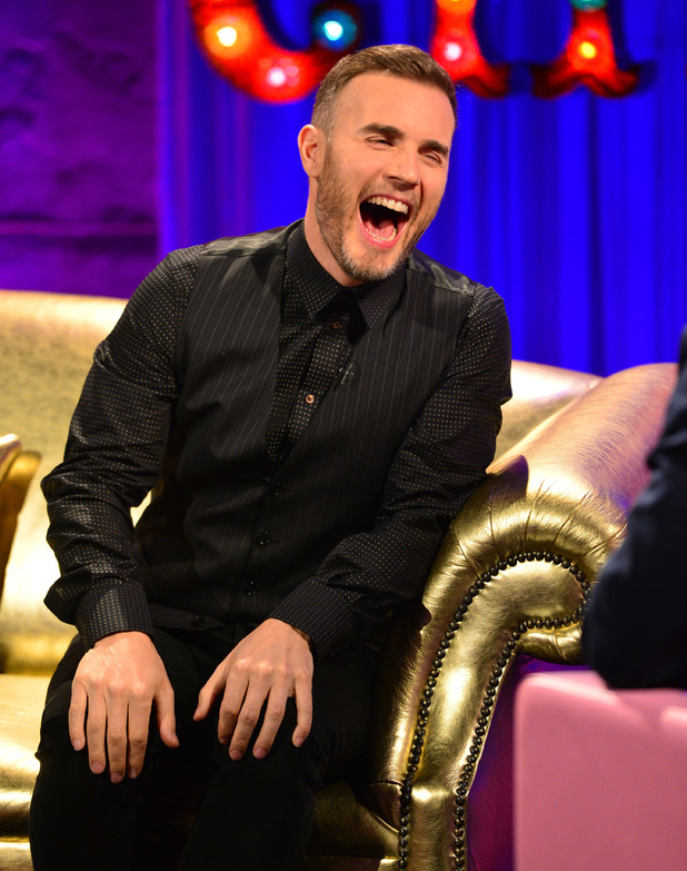 Gary Barlow appears on Alan Carr's Chatty Man (airs: Friday 28 March 2014).