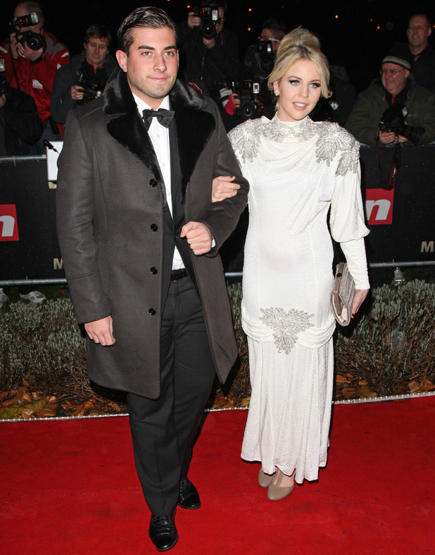 Lydia Rose Bright AKA Lydia Bright and James Argent aka 'Arg' The Sun Military Awards 2011