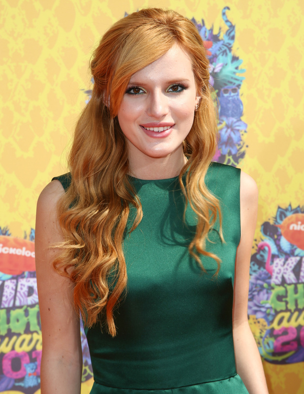 Bella Thorne attends Nickelodeon Kids' Choice Awards 2014, 29 March 2014
