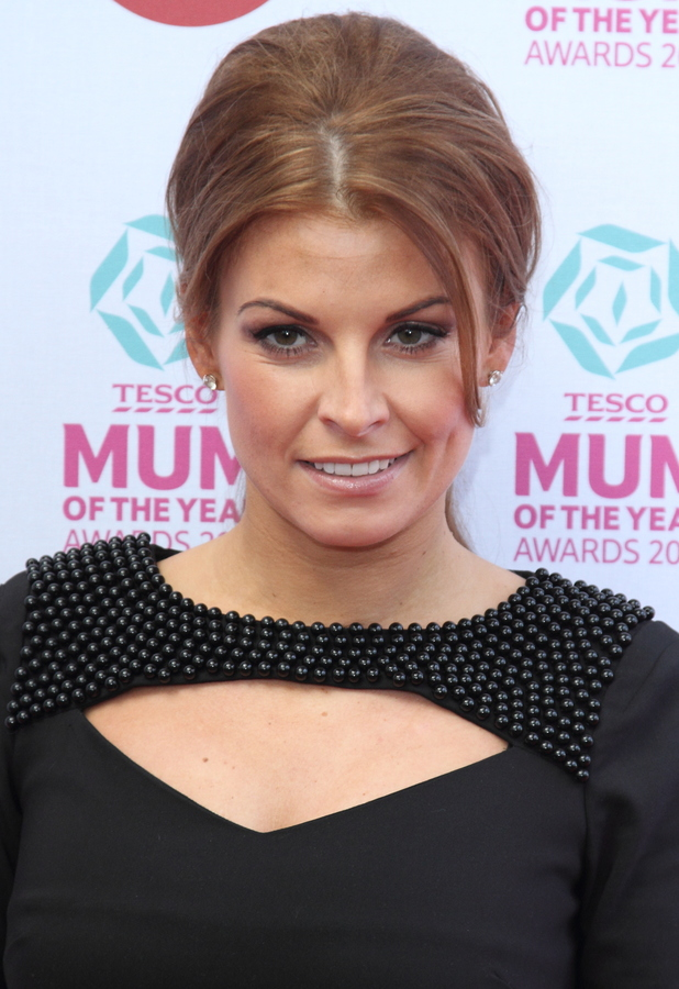 Coleen Rooney attends the Tesco Mum of the Year Awards at The Savoy Hotel, London - 23 March 2014