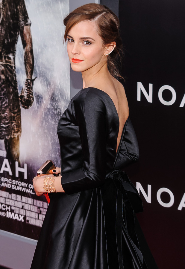 Emma Watson at the premiere of her new film Noah in New York, America - 26 March 2014
