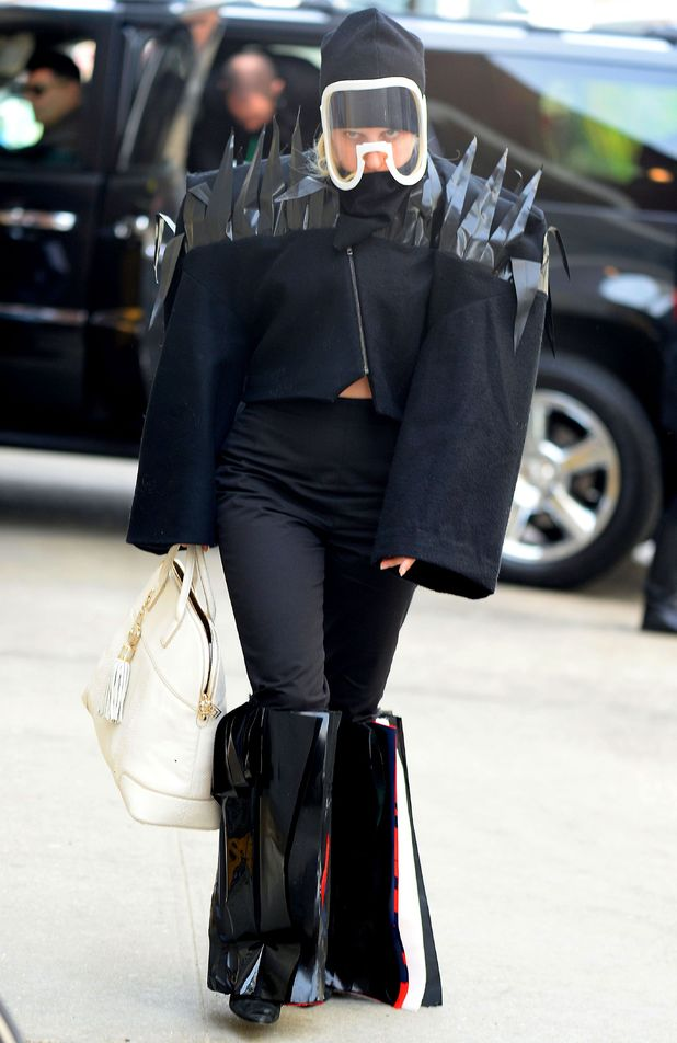 Lady Gaga out in New York, America - 22 March 2014