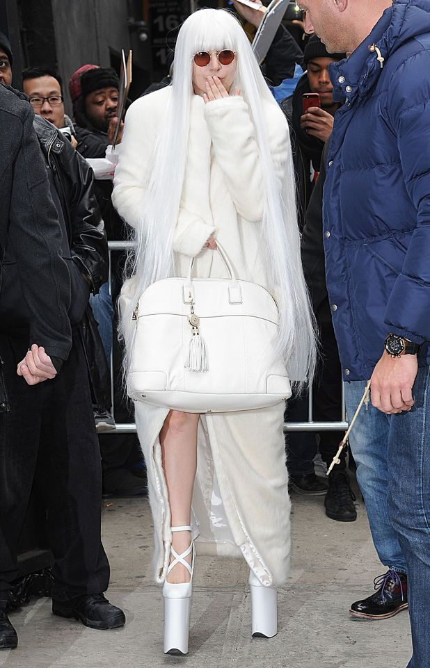 Lady Gaga out in New York, America - 25 March 2014