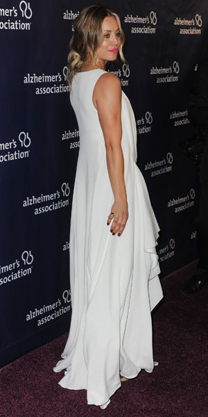 """Kaley Cuoco at the 22nd Annual """"A Night at Sardi's"""" to benefit the Alzheimer's Association, LA, 26 March 2014"""