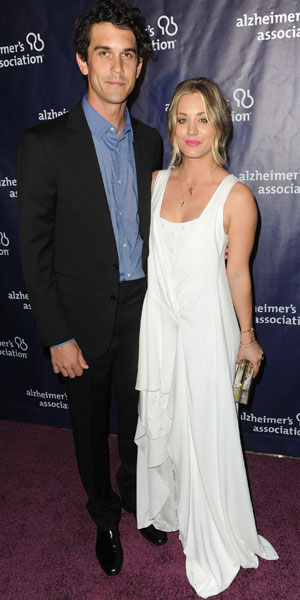 """Kaley Cuoco and Ryan Sweeting at the 22nd Annual """"A Night at Sardi's"""" to benefit the Alzheimer's Association, LA, 26 March 2014"""