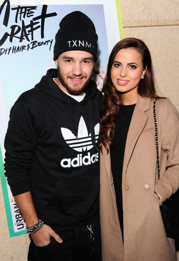 Liam Payne and Sophia Smith at Lou Teasdale's The Craft Book Launch in Shoreditch, London, 25 March 2014