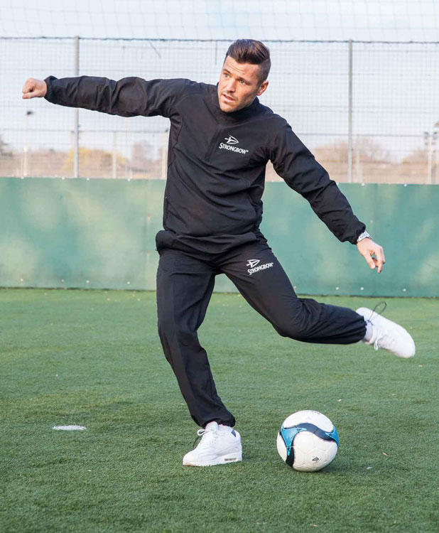Mark Wright will co-manage an amateur men's football team for Strongbow's 'EARN IT. Challenge', 2014