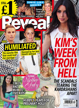 Reveal magazine issue 12, 2014 cover
