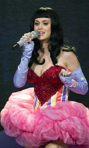 Katy Perry in concert at the Zenith, Paris, France - 08 Mar 2011