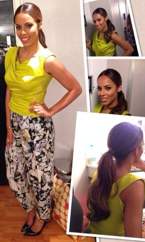 Rochelle Humes shows off her Sweat The Small Stuff outfit - 4 April 2014