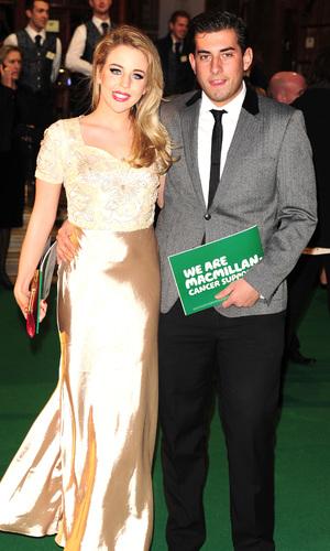 Lydia Bright and James 'Arg' Argent - Macmillan Centenary Gala at the London Palladium 11/28/2011