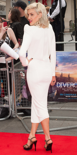 Ashley Roberts steps out at the premiere of Divergent in Leicester Square, London - 30 March 2014