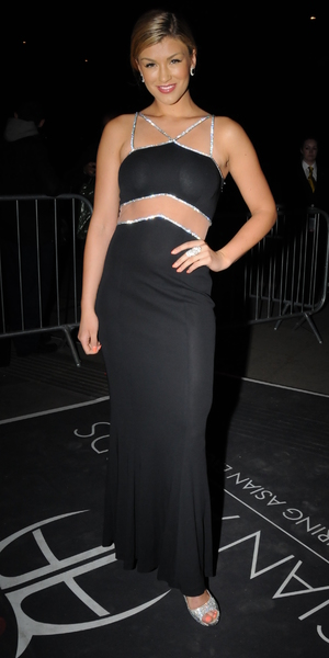 Amy Willerton attends The Asian Awards 2014 held at Grosvenor House Hotel - 4 April 2014