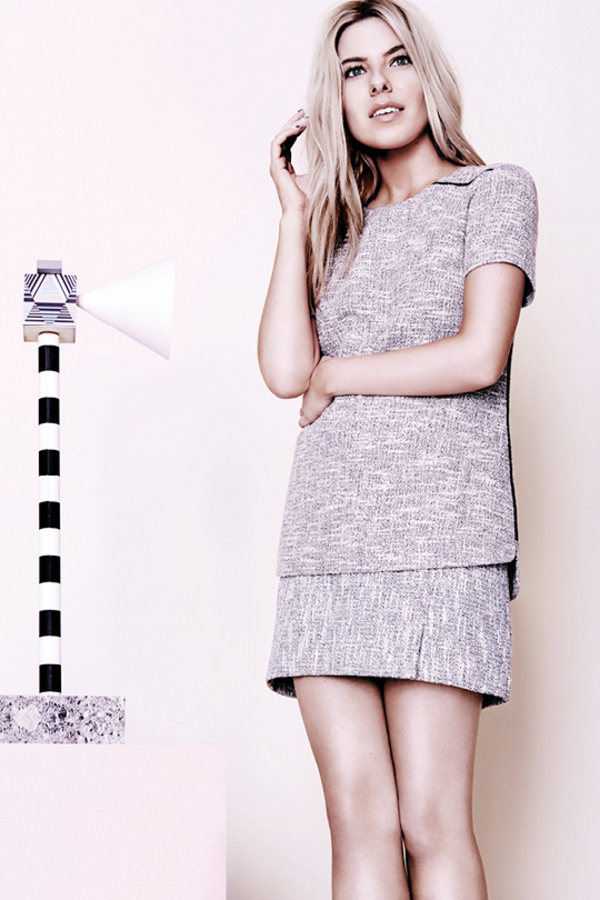 Mollie King models her latest edit for Oasis - embargoed until 1st April 2014