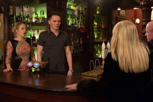 EastEnders, Sharon sacks Johnny, Thu 3 Apr