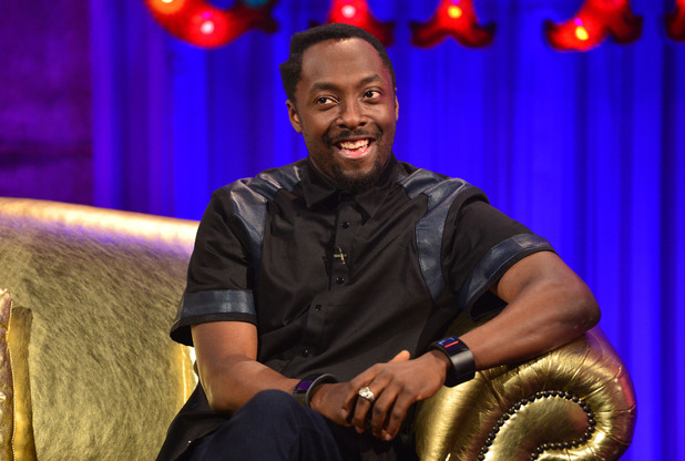 will.i.am appears on Alan Carr's Chatty Man (airs: Friday 4 April 2014).