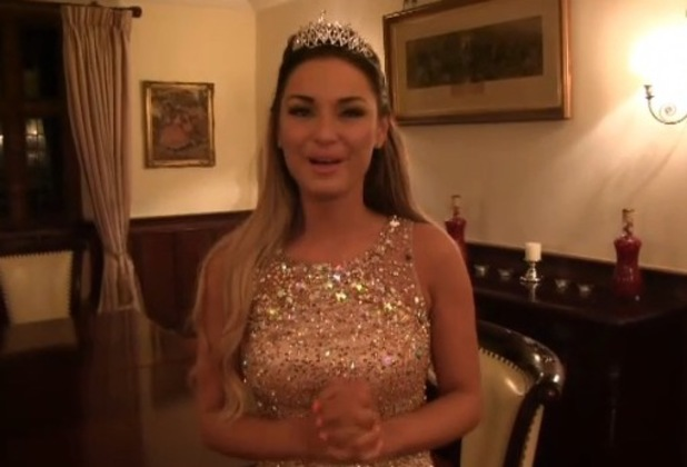 TOWIE's Sam Faiers thanks fans in an ITV video message - 3 April 2014