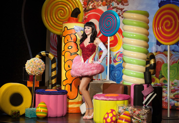 Katy Perry wax figure unveiling at Madame Tussauds London 04/02/2014 London, United Kingdom