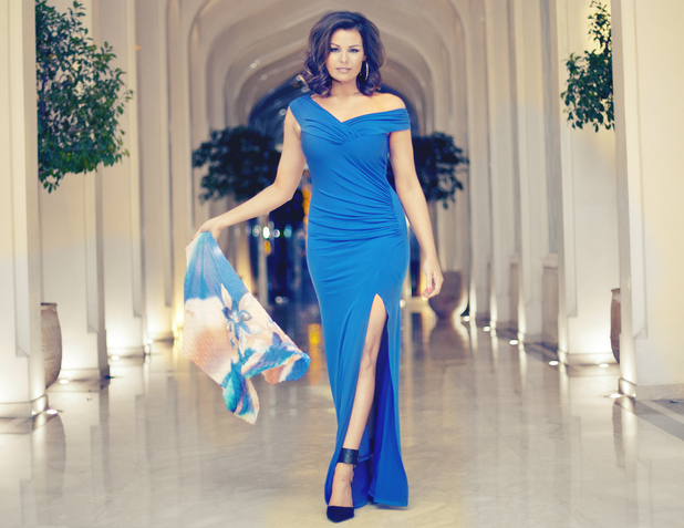 TOWIE's Jess Wright models her new summer '14 clothing collection for Lipstick Boutique - 1 April 2014