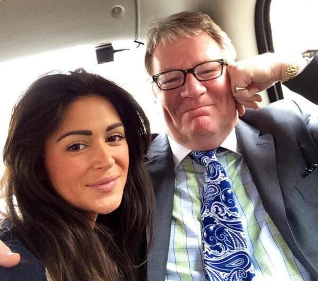 Jim Davidson and Casey Batchelor head to Falklands Veterans Foundation event at House Of Commons - 2 April 2014