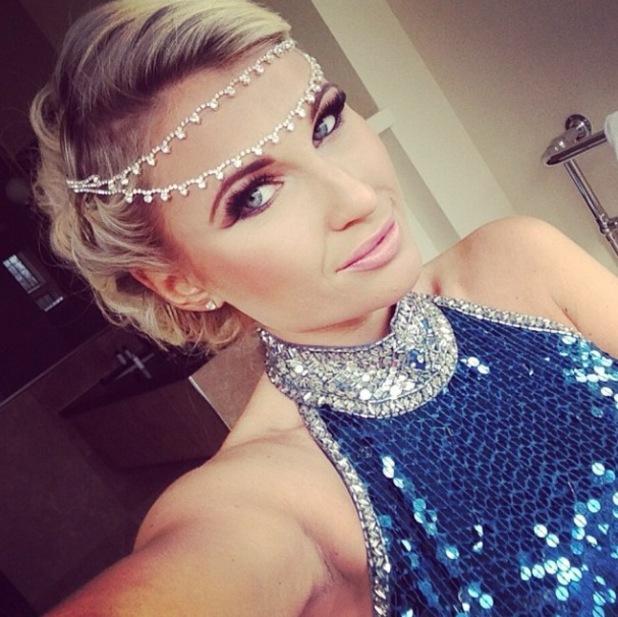 Billie Faiers wears Arabian princess costume to TOWIE finale party - 31 March 2014