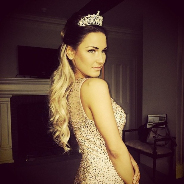 Sam Faiers shows off princess hairstyle for TOWIE season finale - Essex, England - 31 March 2014