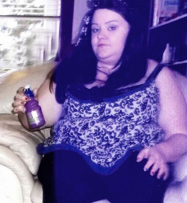Stephanie Travers yummy mummy lost 7st -  before picture