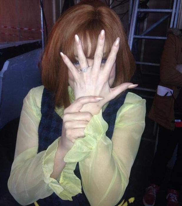 Sheridan Smith gets engaged to Miles Kane - 1 April 2014