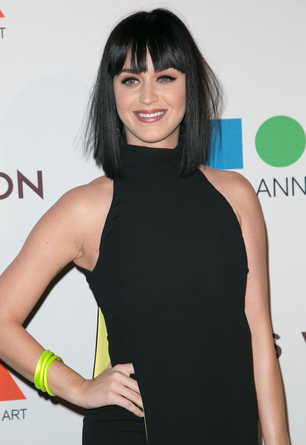 Katy Perry attends the MOCA 35th Anniversary Gala in Los Angeles, America - 29 March 2014