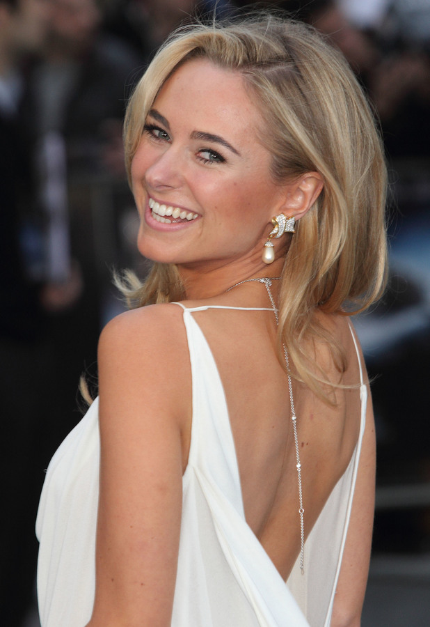 Former Made In Chelsea star Kimberley Garner attends the premiere of Noah in London, England - 31 March 2014