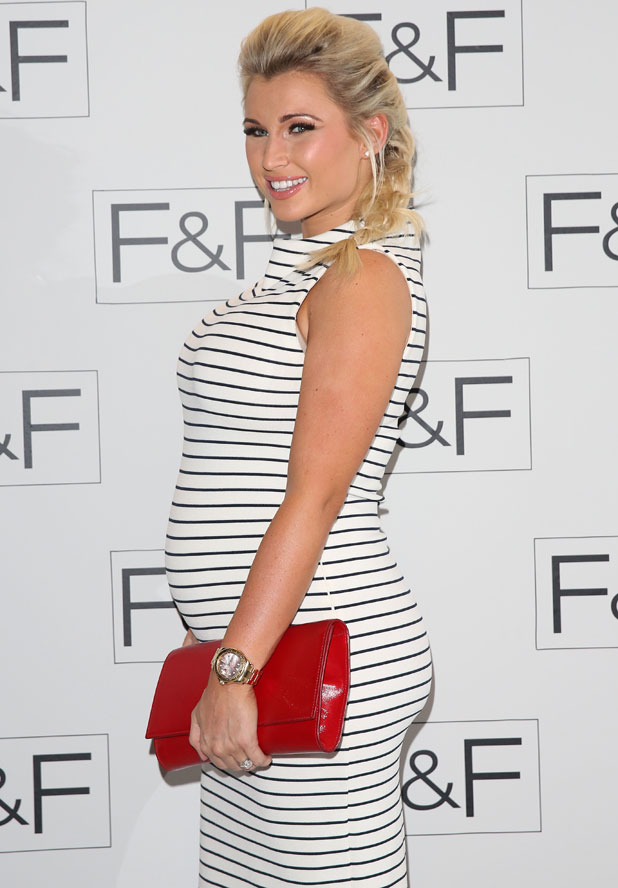 Billie Faiers, &F Autumn/Winter 2014 fashion show held at Somerset House - Arrivals, 3 April 2014
