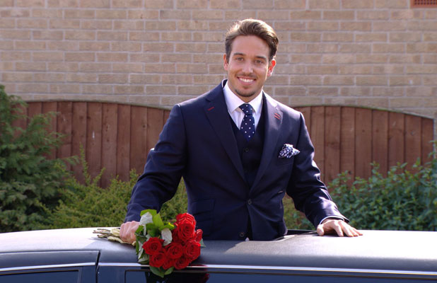 TOWIE's James Lock tries to woo Danielle Armstrong back on finale, airs 2 April 2014