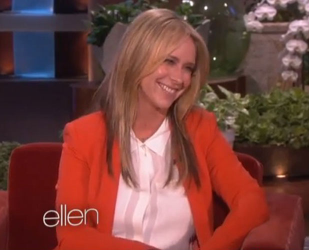 Jennifer Love Hewitt appears on The Ellen DeGeneres Show, 31 March 2014