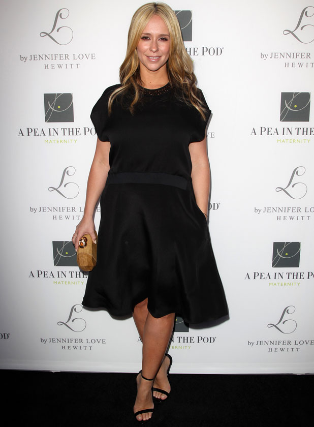 Jennifer Love Hewitt Celebrates the release of her New Baby Collection with Pea In The Pod, LA, 1 April 2014