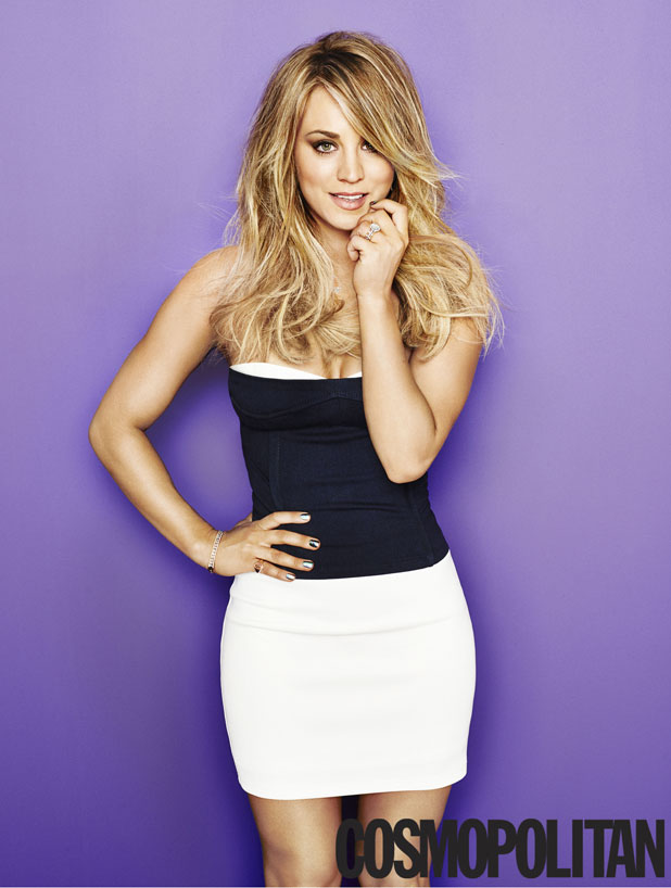 Kaley Cuoco Is The Cosmopolitan Us Cover Girl For May Issue Available