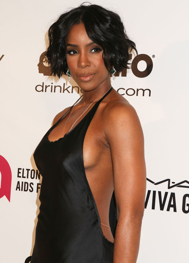 Kelly Rowland at the 22nd Annual Elton John AIDS Foundation Academy Awards Viewing/After Party, March 2014