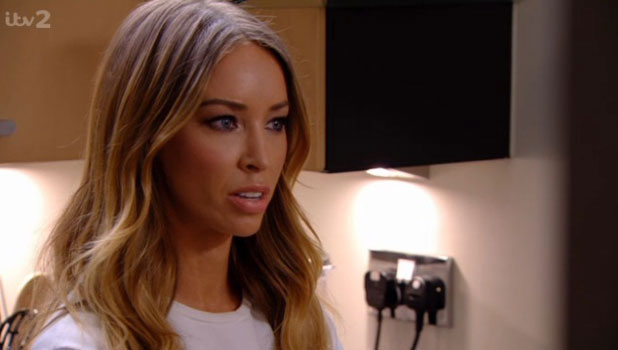 Lauren Pope on TOWIE, episode aired 30 March 2014