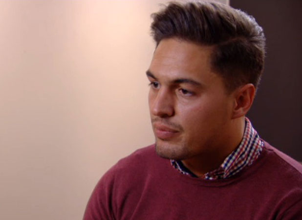 Mario Falcone on TOWIE, episode aired 30 March 2014