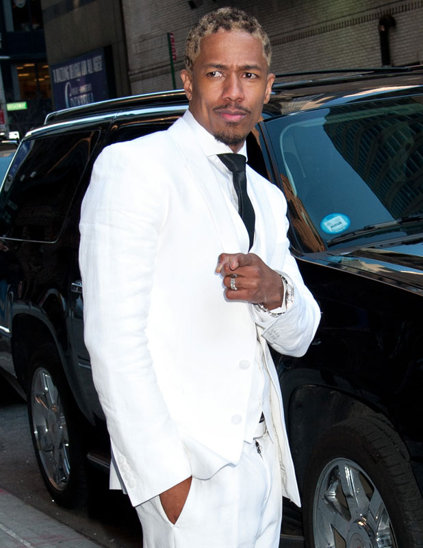 Nick Cannon, 'Late Show with David Letterman', New York, America - 31 Mar 2014