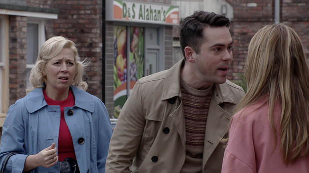 Corrie, Todd has a go at Maria, Wed 9 Apr