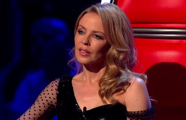 Kylie Minogue - The Voice - Quarter Finals, shown on BBC One HD 03/24/2014