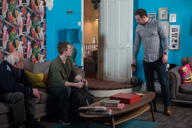 EastEnders, Mick wants to truth, Thu 10 Apr