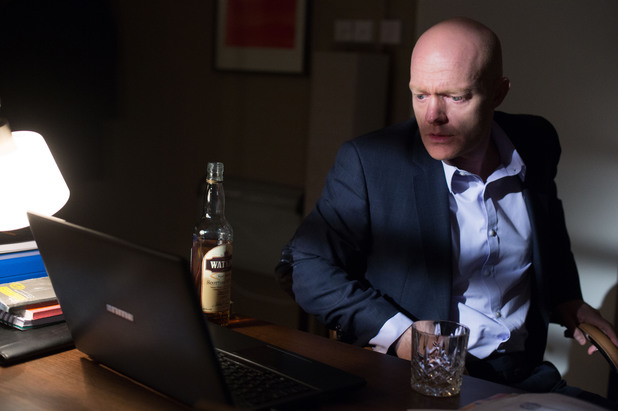 EastEnders, Max gets an email, Tue 15 Apr