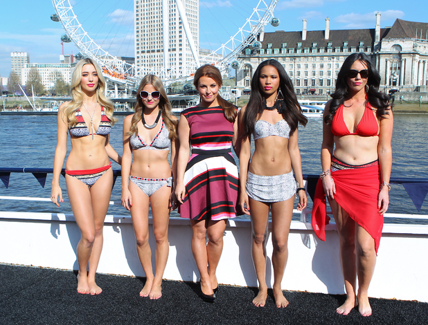 Coleen Rooney launches her signature swimwear collection for Littlewoods in London - 9 April 2014