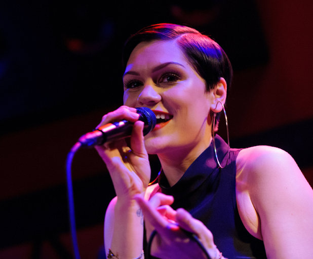 Jessie J performing live in concert at Rockwood Music Hall 03/10/2014 New York City, United States