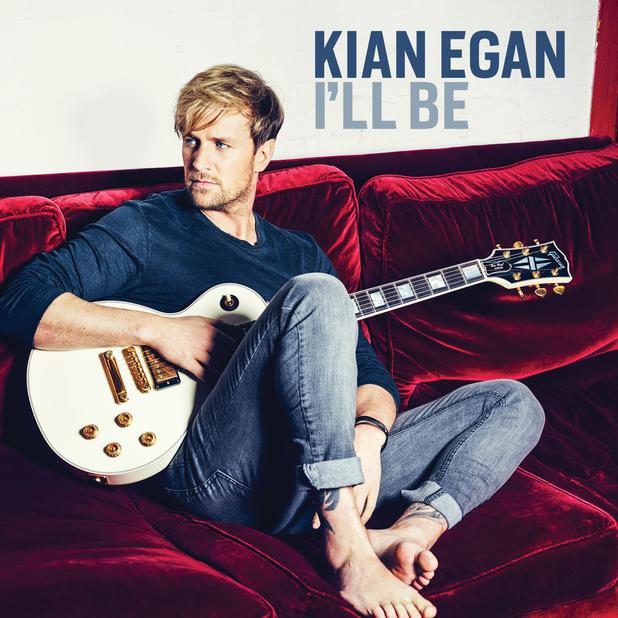 Kian Egan reveals artwork for single 'I'll Be' - 9 April 2014