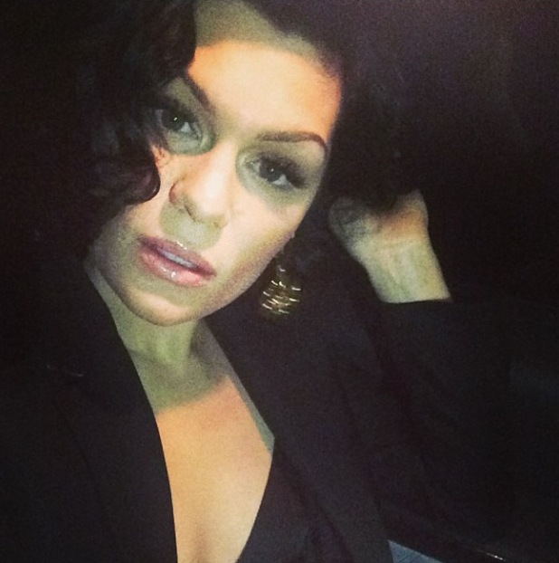 Jessie J sports curls on her birthday (posted 30 March 2014).