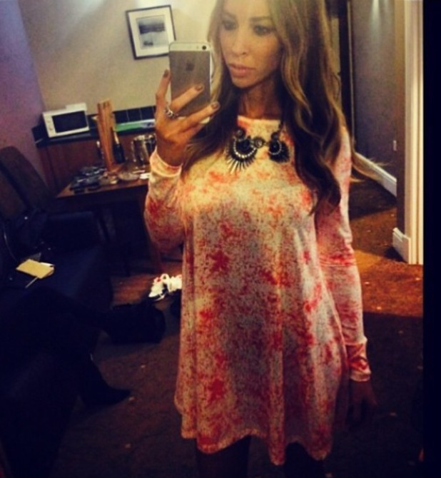 TOWIE's Lauren Pope wear dress from By Lauren Pope collection to Cumbria nightclub - 7 april 2014