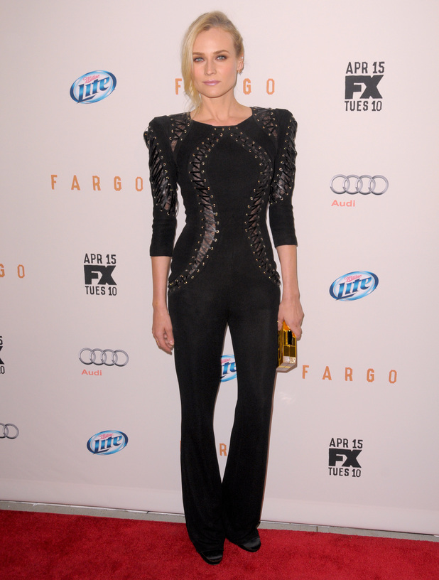 "Diane Kruger, FX Network Upfront Premiere Screening Of ""Fargo"" - Red Carpet Arrivals, 9 April 2014"